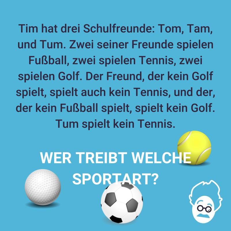 Tims sportliche Freunde